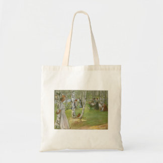 Breakfast in the Open by Carl Larsson Tote Bag