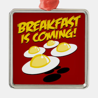 Breakfast Is Coming! Christmas Ornament