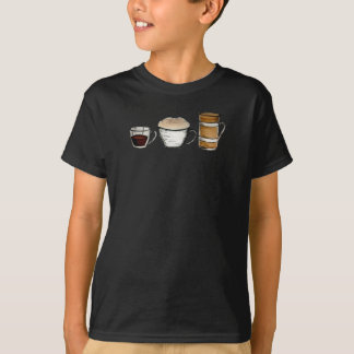 Breakfast, lunch & dinner shirt