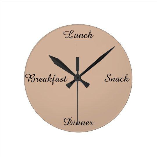 ~Breakfast lunch snack dinner~ WALLCLOCK. Clock