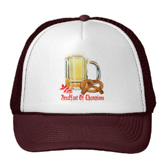Breakfast of Champions-Happy Oktoberfest Hats