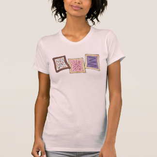 Breakfast Pastry Frosted Toaster Pastries Foodie T-Shirt