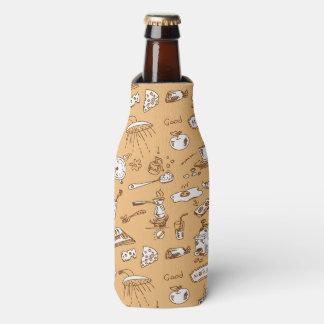 Breakfast Pattern 2 Bottle Cooler