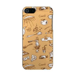Breakfast Pattern 2 Incipio Feather® Shine iPhone 5 Case