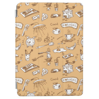 Breakfast Pattern 2 iPad Air Cover