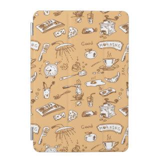 Breakfast Pattern 2 iPad Mini Cover