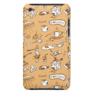 Breakfast Pattern 2 iPod Touch Case