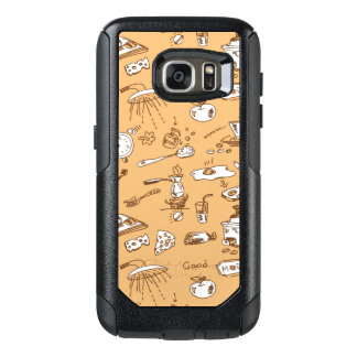 Breakfast Pattern 2 OtterBox Samsung Galaxy S7 Case