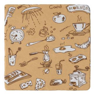 Breakfast Pattern 2 Trivet