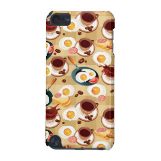 Breakfast Pattern 3 iPod Touch 5G Covers