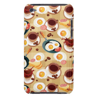 Breakfast Pattern 3 iPod Touch Cover