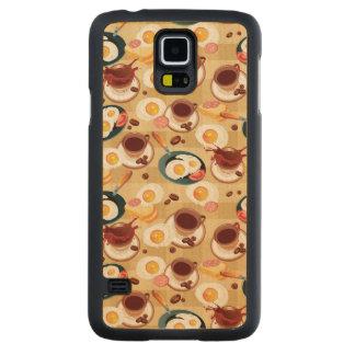 Breakfast Pattern 3 Maple Galaxy S5 Case
