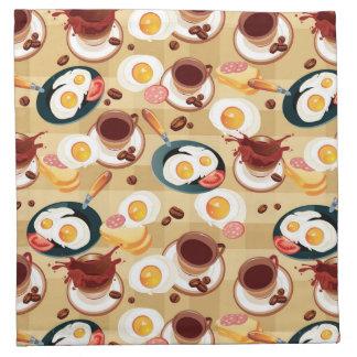 Breakfast Pattern 3 Napkin