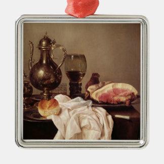 Breakfast Still Life (oil on panel) Christmas Ornament