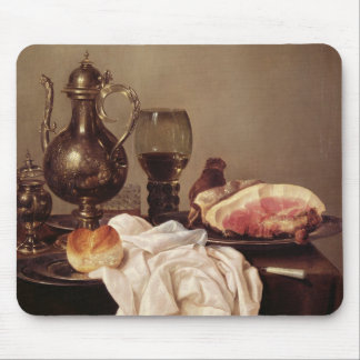 Breakfast Still Life (oil on panel) Mouse Mat