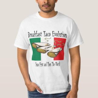 Breakfast Taco Evolution Tee Shirt