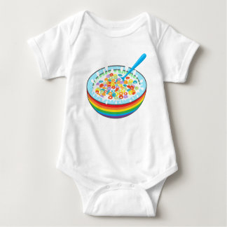 Breakfast time. baby bodysuit