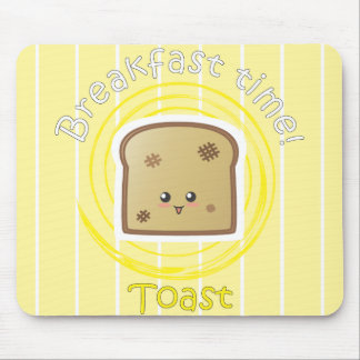 Breakfast Time - Toast Mouse Pad