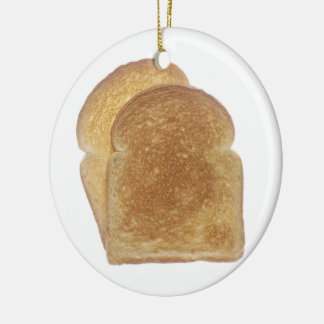 Breakfast Toast Christmas Ornament