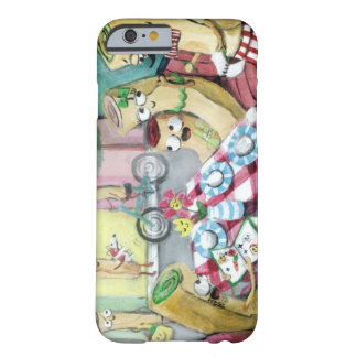 Breakfast with Family of Pancakes Barely There iPhone 6 Case