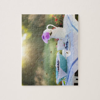 Breakfast with wasps jigsaw puzzle