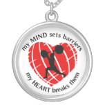 Breaking Barriers Weightlifting Necklace