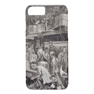 Breaking Bulk on Board a Tea Ship in the London Do iPhone 8/7 Case