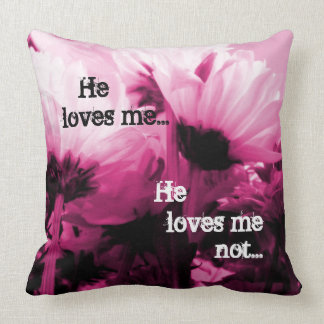 Breaking Cadence [Loves Me] Cushion