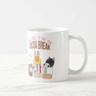 Breaking Cat News Cocoa Break Mug