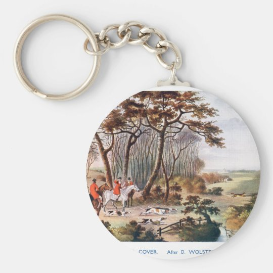 Breaking Cover Basic Round Button Key Ring