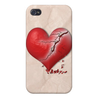Breaking Heart iPhone 4 Covers