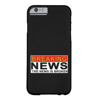 breaking news barely there iPhone 6 case