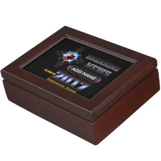Breaking News Class Of 2017 Keepsake Box