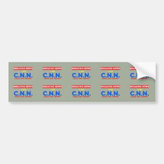 Breaking News: I am Curious Nosy Neighbor (C.N.N.) Bumper Sticker
