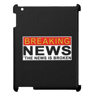 breaking news iPad case