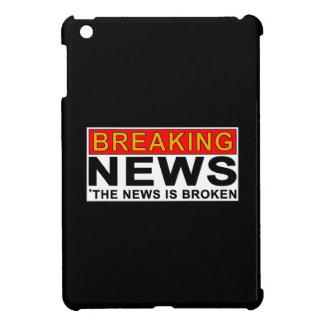 breaking news iPad mini covers