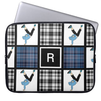 Breaking Plaid Laptop Sleeve
