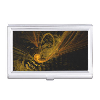 Breaking Point Abstract Art Business Card Holder