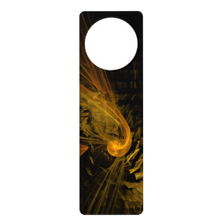 Breaking Point Abstract Art Door Knob Hanger
