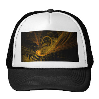 Breaking Point Abstract Art Hat