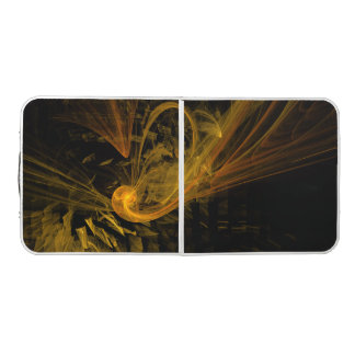 Breaking Point Abstract Art Pong Table