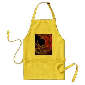 Breaking the Circle Abstract Art Apron