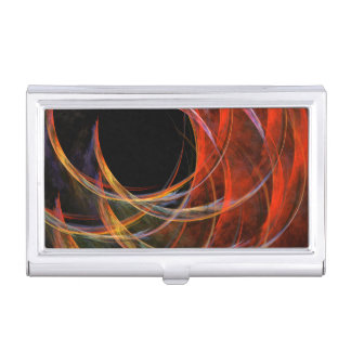 Breaking the Circle Abstract Art Business Card Holder