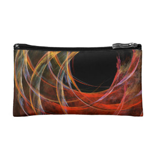 Breaking the Circle Abstract Art Cosmetics Bags