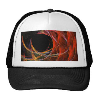 Breaking the Circle Abstract Art Hat