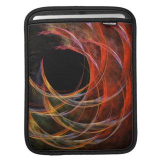 Breaking the Circle Abstract Art iPad Sleeve