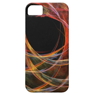Breaking the Circle Abstract Art iPhone 5 Barely There iPhone 5 Case