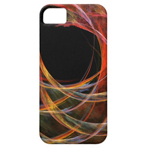 Breaking the Circle Abstract Art iPhone 5 iPhone 5 Case