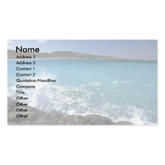 Breaking wave, Hudson Bay, Canada Double-Sided Standard Business Cards (Pack Of 100)