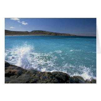 Breaking wave, Hudson Bay, Canada Greeting Card